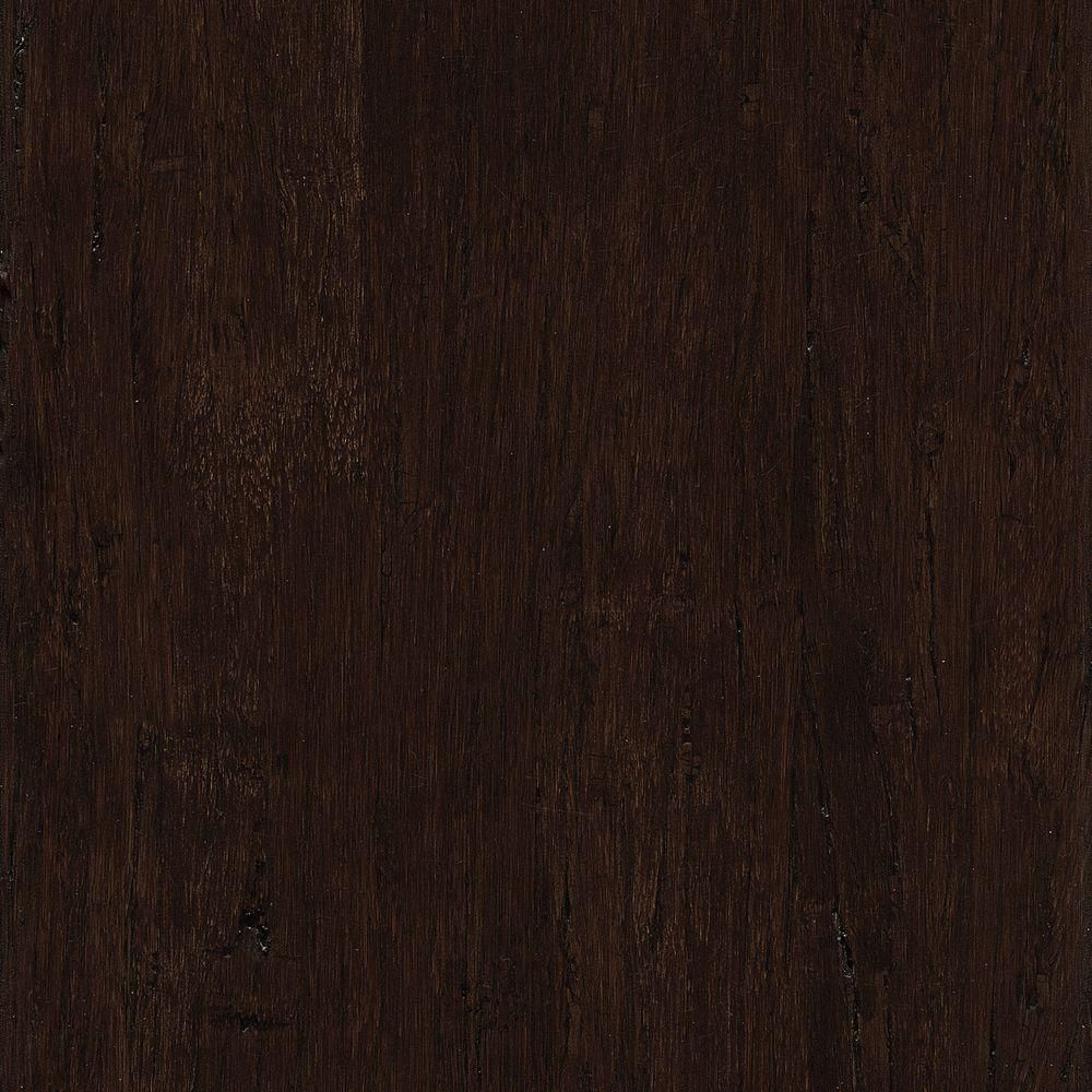Hand Scraped Distressed Strand Woven Russet 3/8 in. x 5-1/8 in.