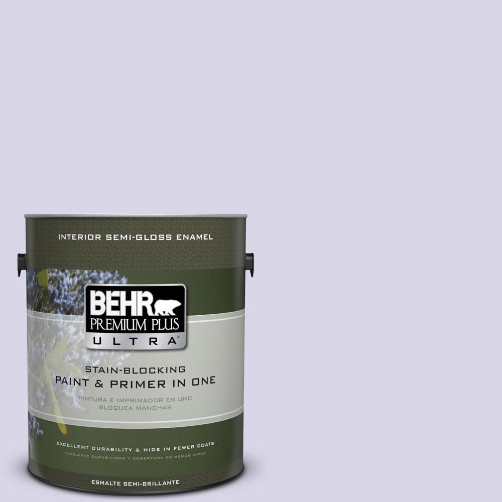 1-gal. #630A-2 February Frost Semi-Gloss Enamel Interior Paint