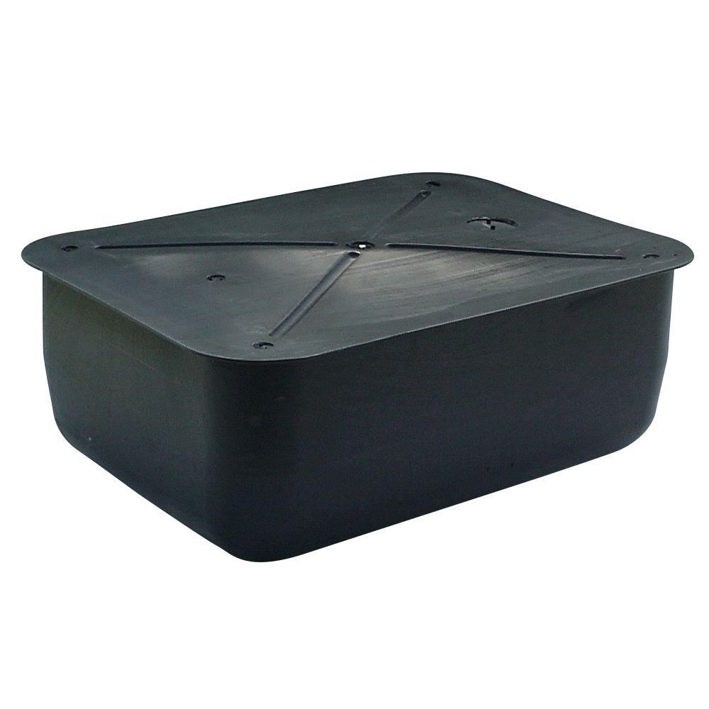 null 36 in. x 48 in. x 16 in. Deep PolyFlange Dock Float (Dock System Float Drum)