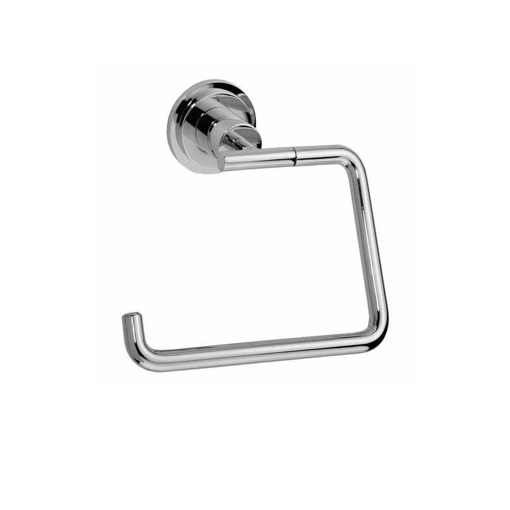 JADO New Haven Single Post Toilet Paper Holder in Polished Chrome-DISCONTINUED