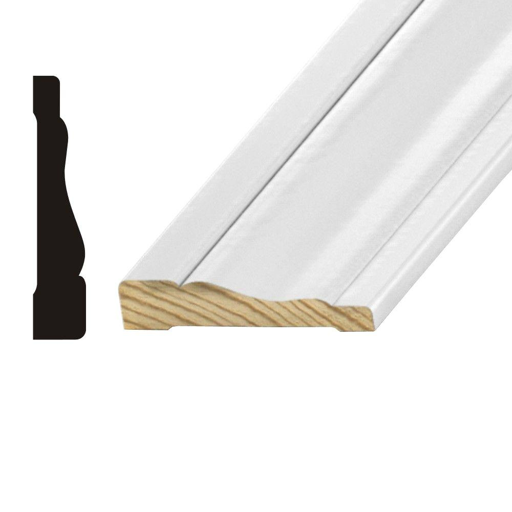 OP 444 5/8 in. x 3-1/4 in. Primed Finger-Jointed Pine Casing