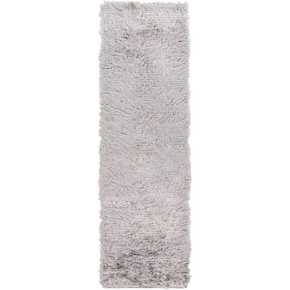 Xanthi Light Gray 2 ft. 6 in. x 8 ft. Indoor Rug Runner