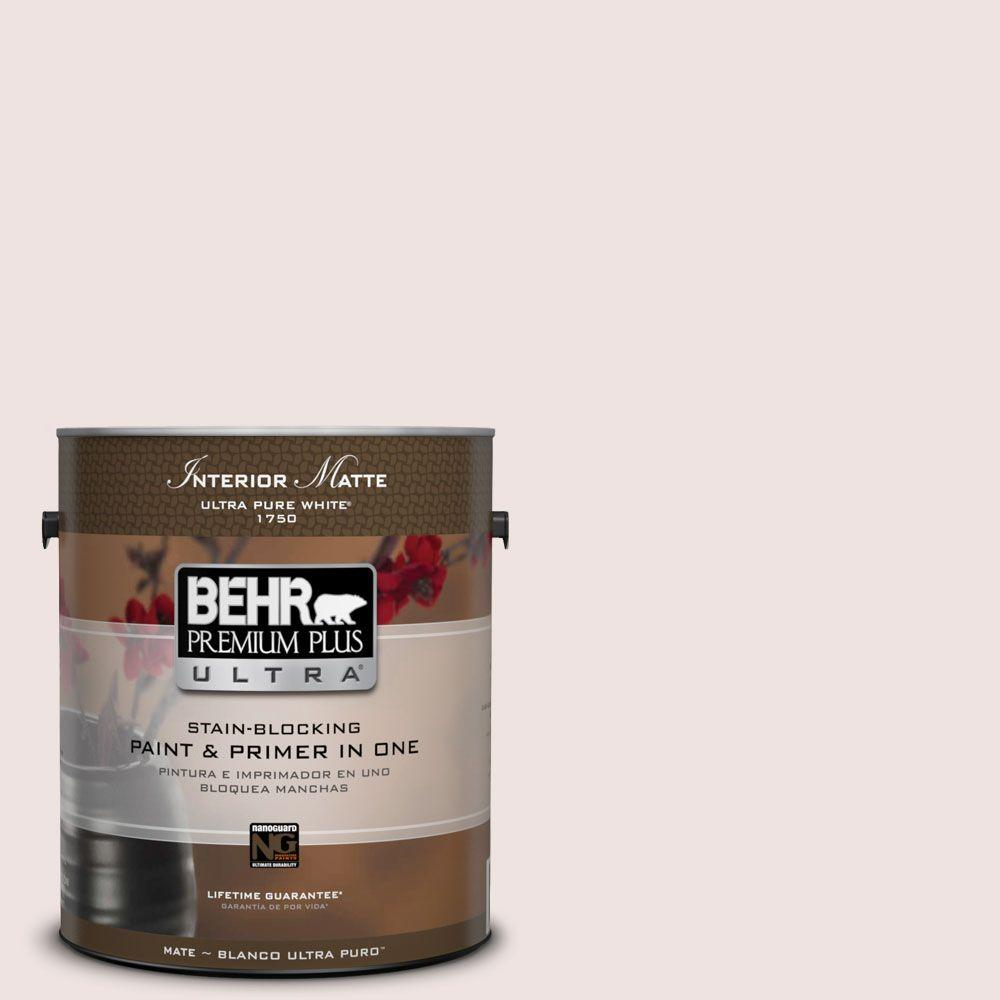 1 gal. #ICC-33 Soft Feather Flat/Matte Interior Paint