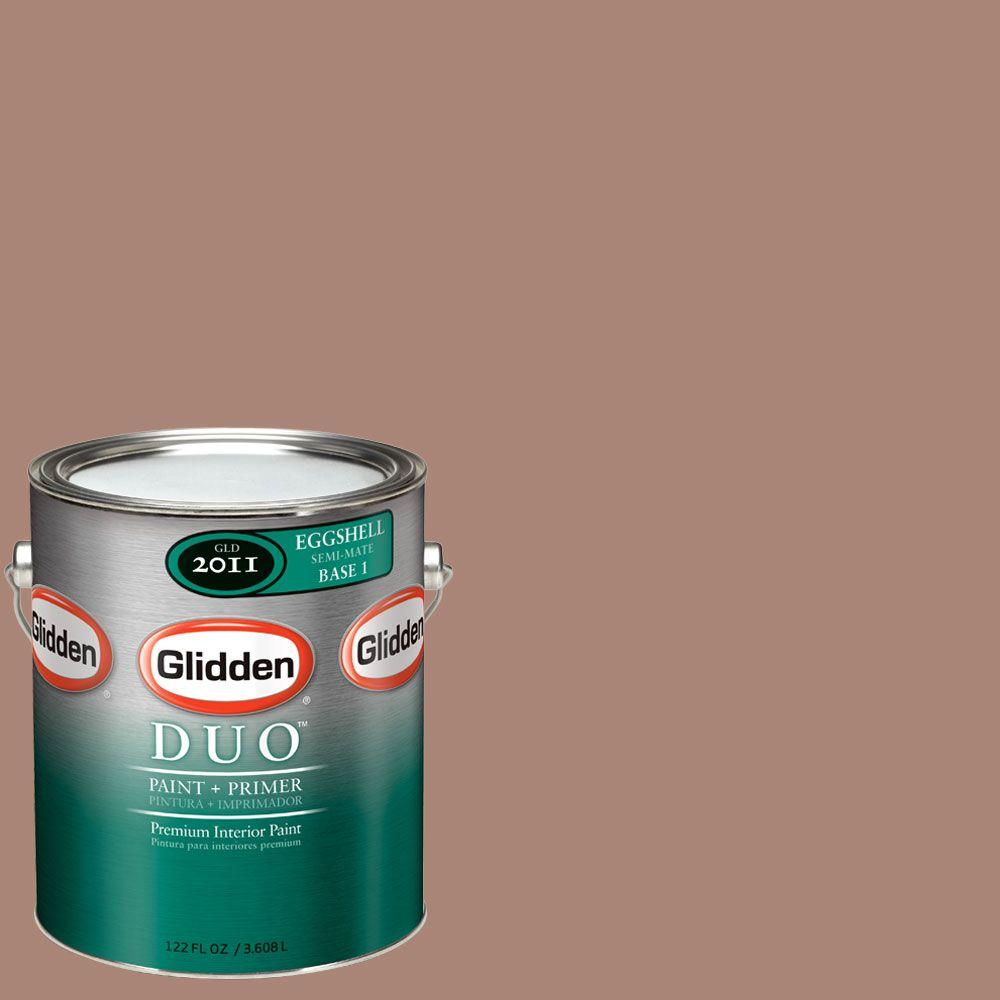 Glidden DUO Martha Stewart Living 1-gal. #MSL048-01E Georgia Clay Eggshell Interior Paint with Primer-DISCONTINUED