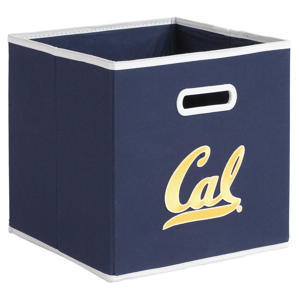 null College STOREITS University of California - Berkeley 10-1/2 in. W x 10-1/2 in. H x 11 in. D Navy Fabric Storage Drawer