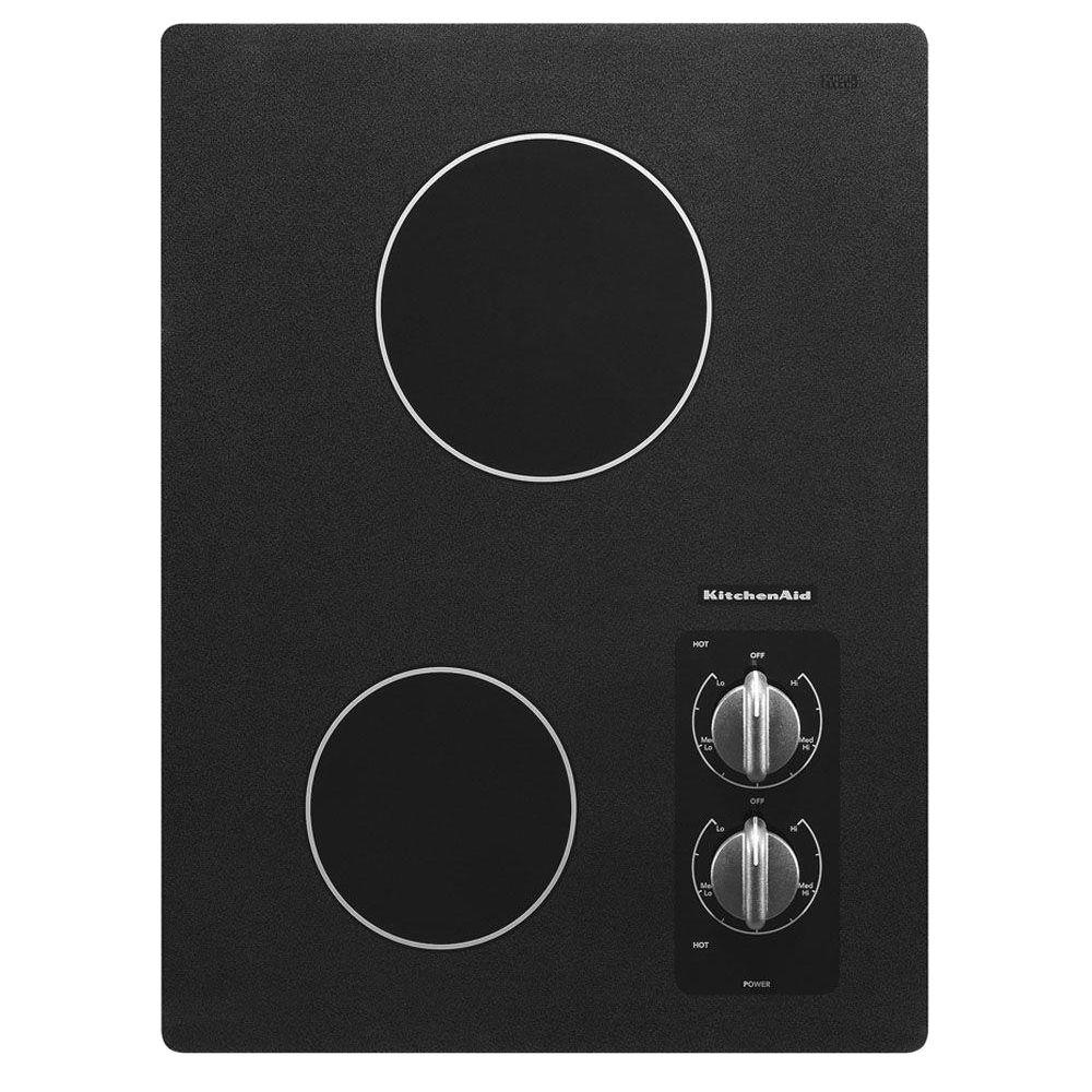 KitchenAid Architect Series II 15 in. Ceramic Glass Electric Cooktop in