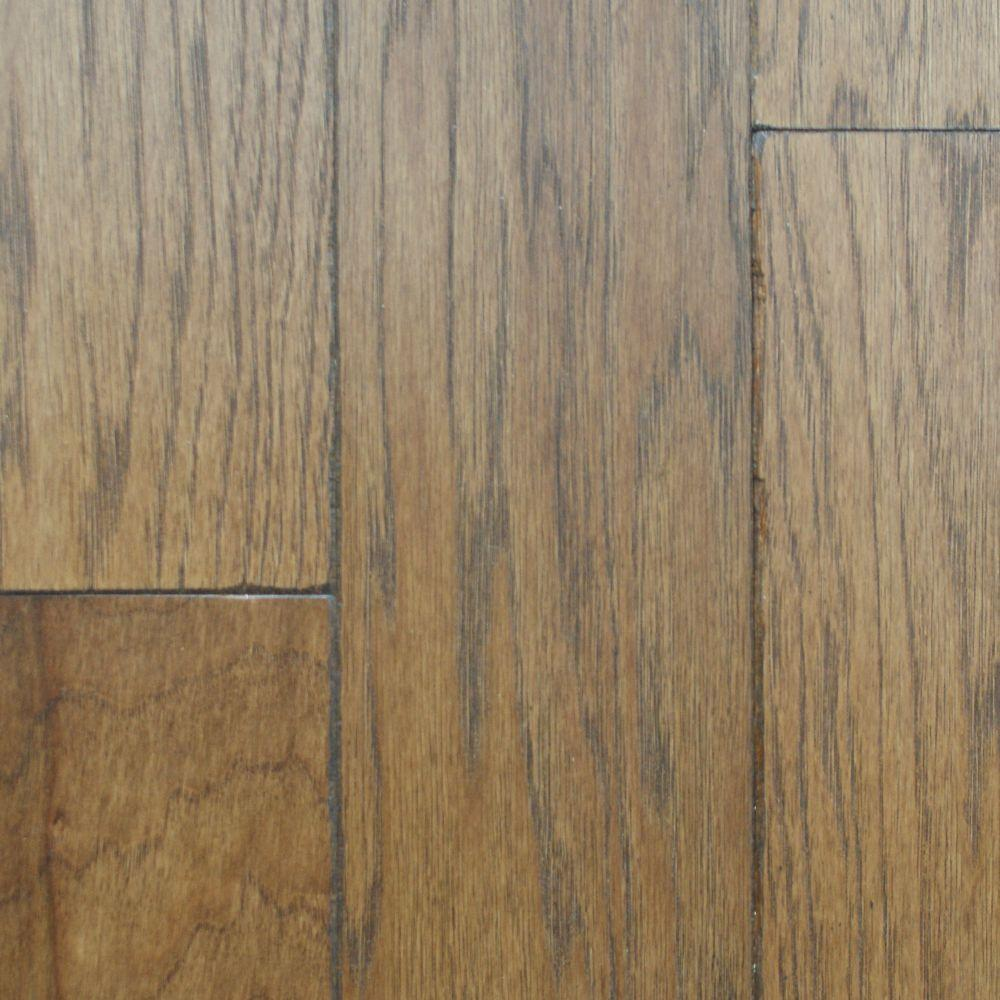 Millstead Artisan Hickory Sepia 1/2 in. Thick x 5 in. Wide