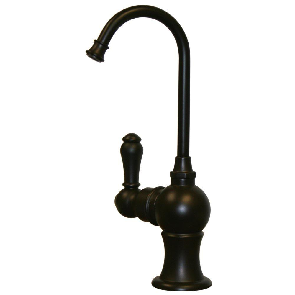 Whitehaus Collection Forever Hot Single-Handle Instant Hot Water Dispenser in Oil Rubbed Bronze