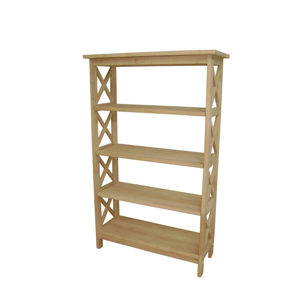 Unfinished Wood Bookcases Home Office Furniture The Home Depot – Bookcases Unfinished