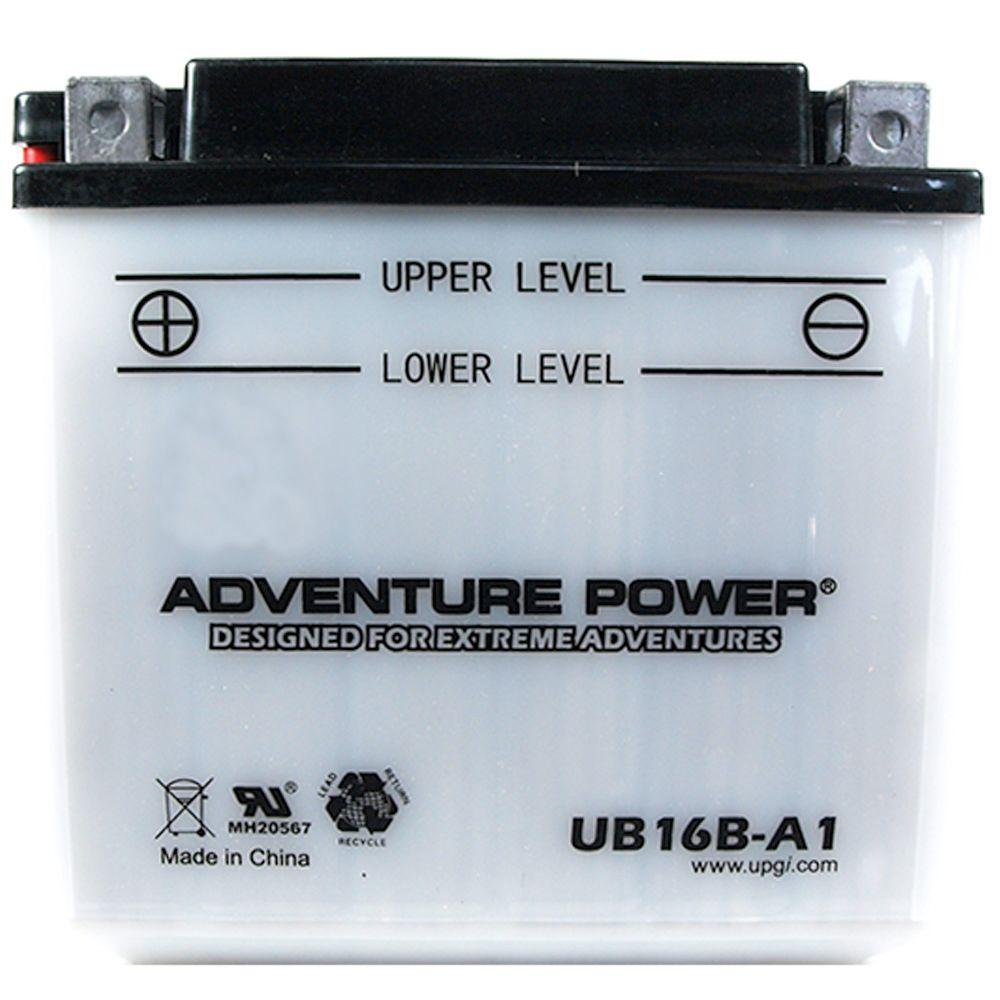 UPG Conventional Wet Pack 12- Volt 16 Ah Capacity D Terminal