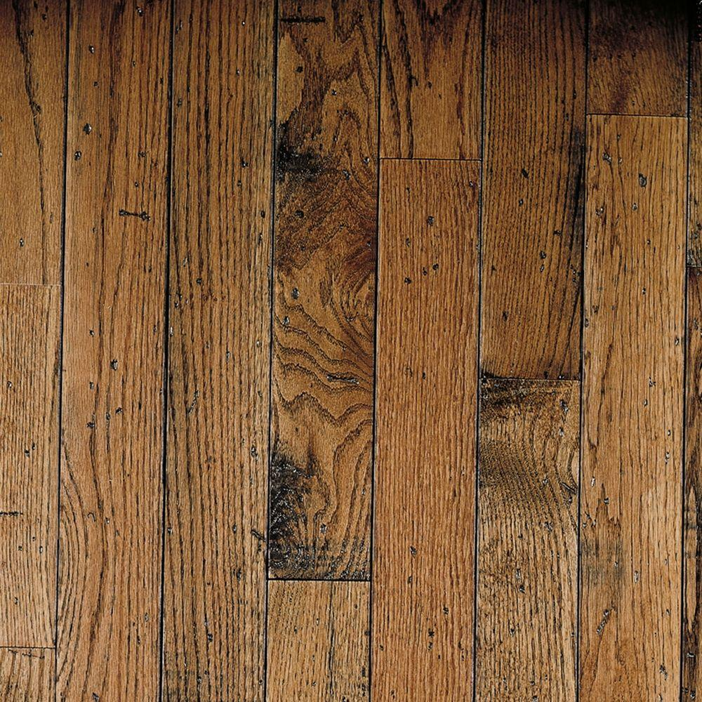 Honey Oak Hardwood Flooring - 5 in. x 7 in. Take Home Sample