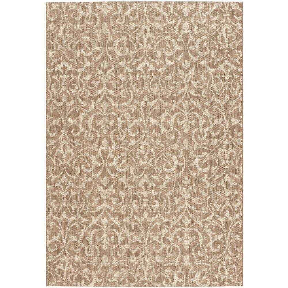 Bermuda Taupe/Champagne 5 ft. 10 in. x 9 ft. 2 in.