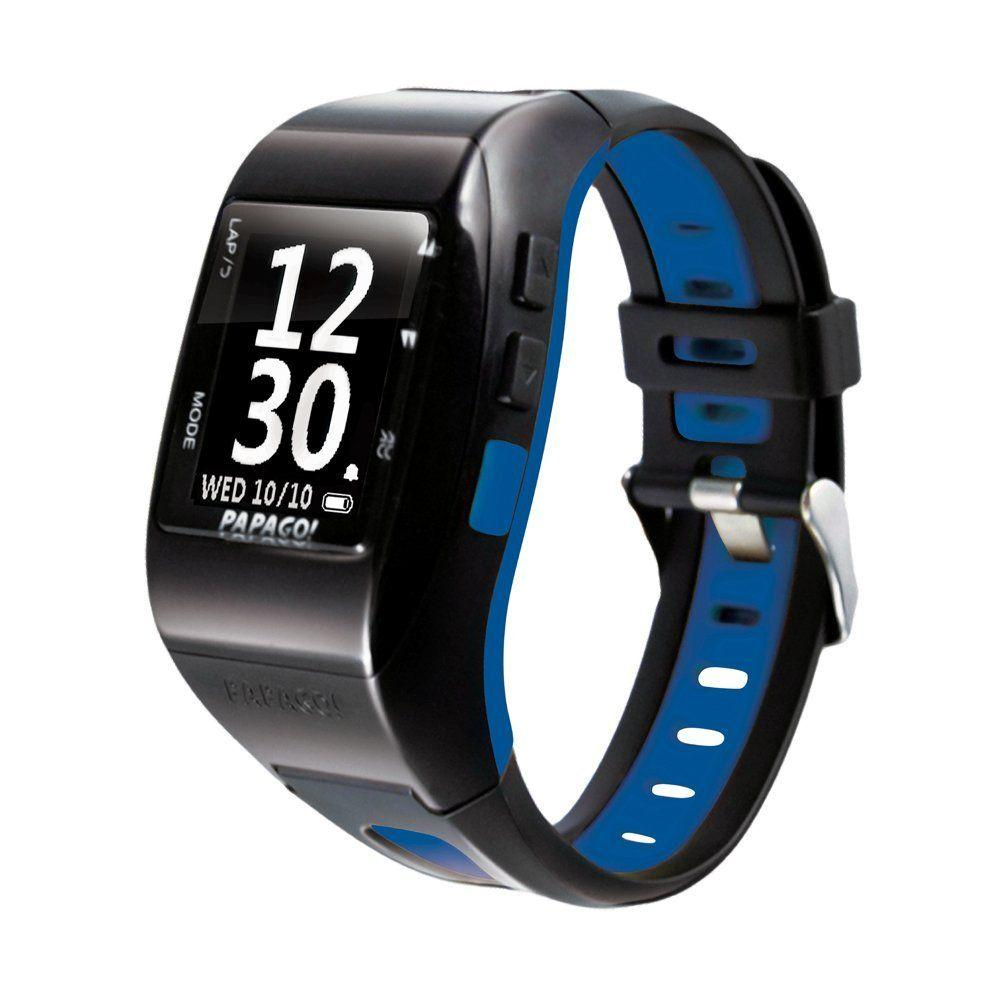 Papago GPS MultiSports Watch in Blue