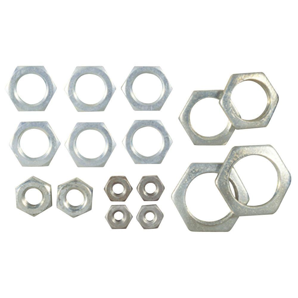 Westinghouse 16 Assorted Steel Hex Nuts