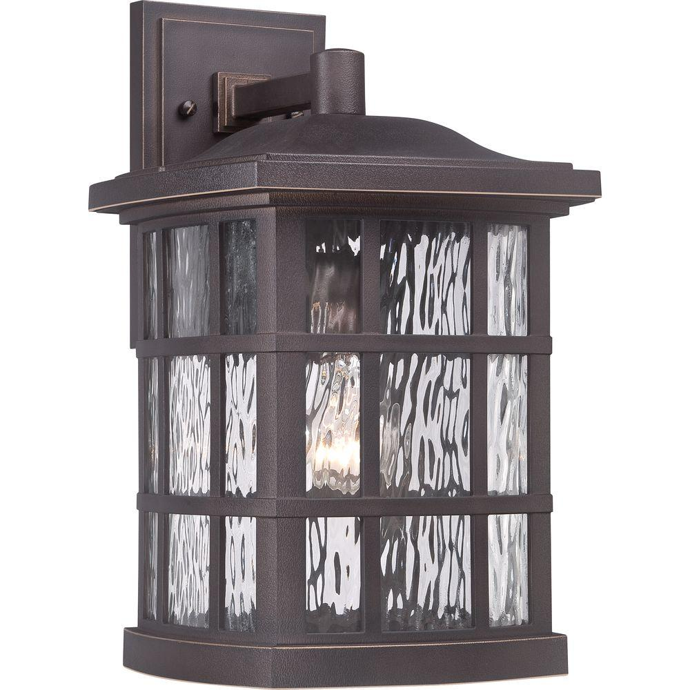 Home Decorators Collection Stonington Palladian Bronze Outdoor Wall Lantern