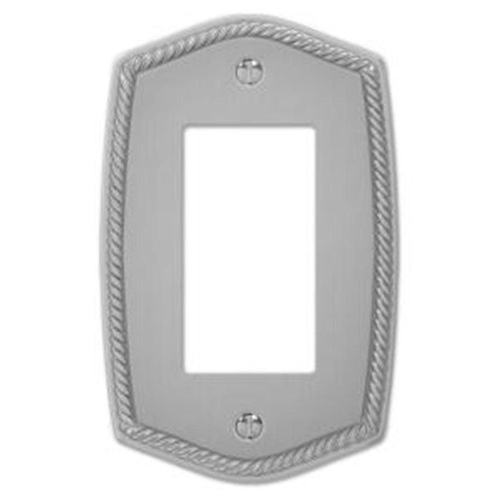 Creative Accents English Rope 1 Decora Wall Plate - Pewter