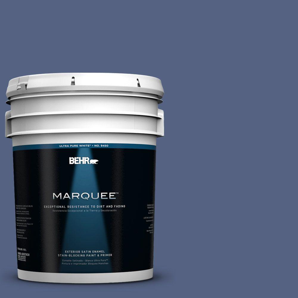 BEHR MARQUEE 5-gal. #610D-6 Enduring Satin Enamel Exterior Paint