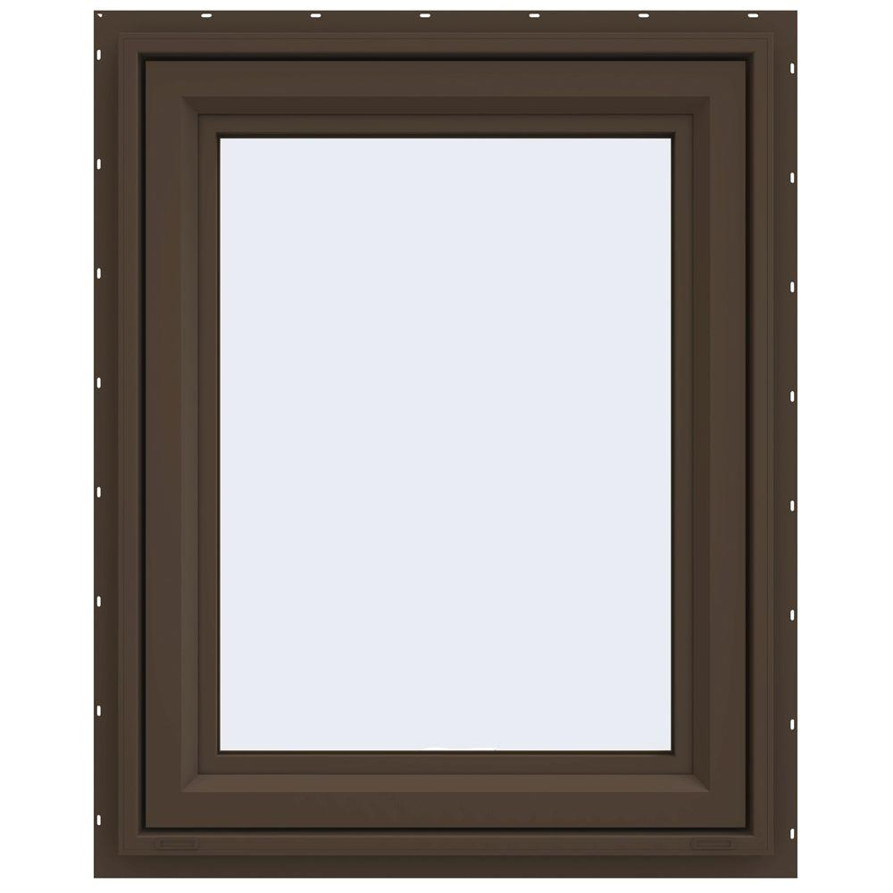 29.5 in. x 35.5 in. V-4500 Series Awning Vinyl Window -