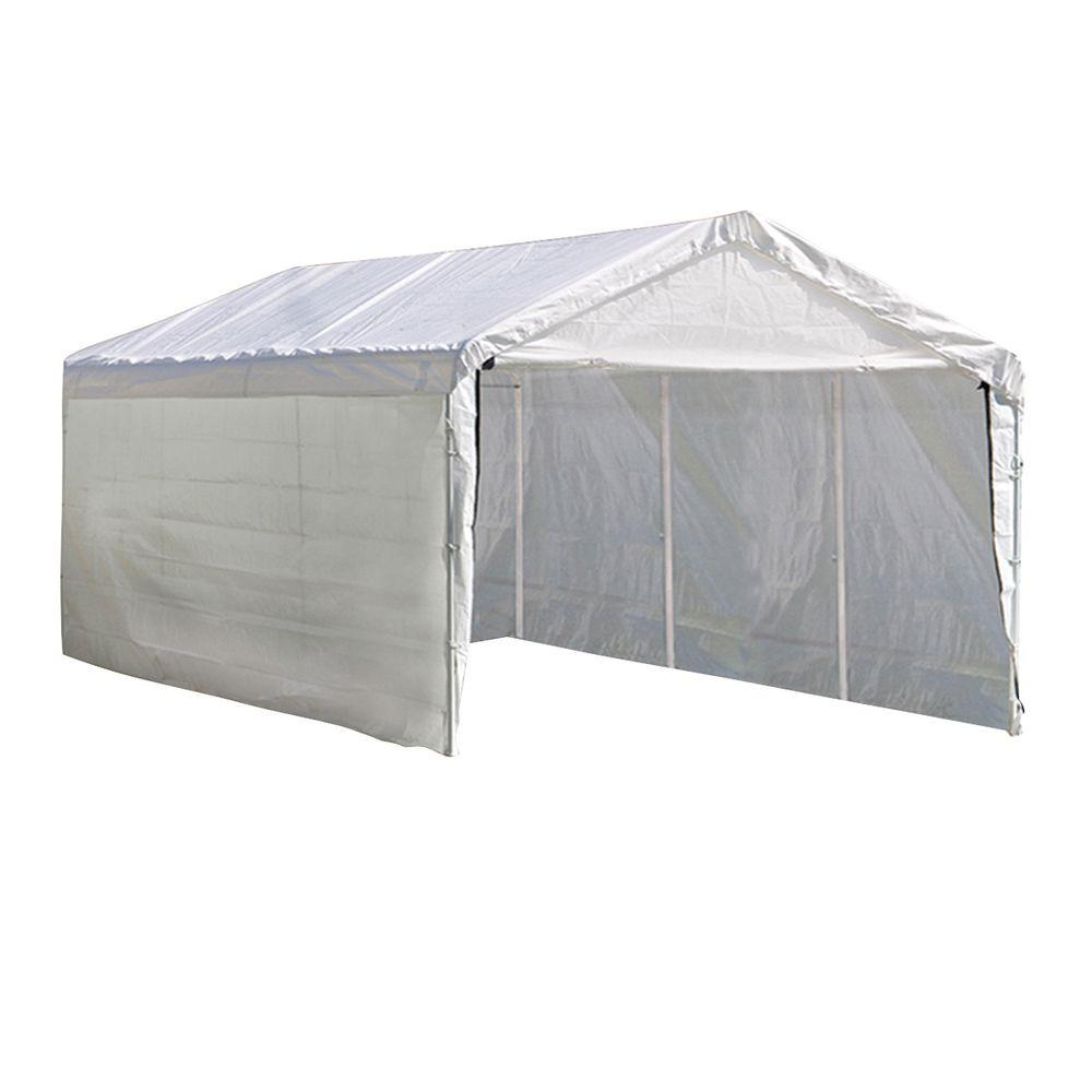 ShelterLogic Enclosure Kit for Super Max 10 ft. x 20 ft. White Canopy (Canopy and Frame not Included)