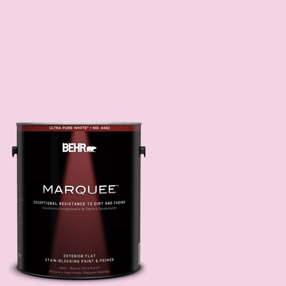 BEHR MARQUEE 1-gal. #690A-2 Hopeful Flat Exterior Paint-445001 - The Home