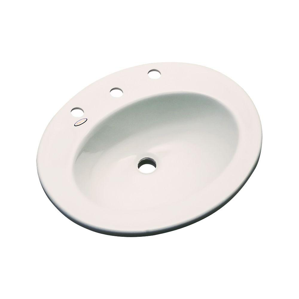 Thermocast Austin Drop-In Bathroom Sink in Natural