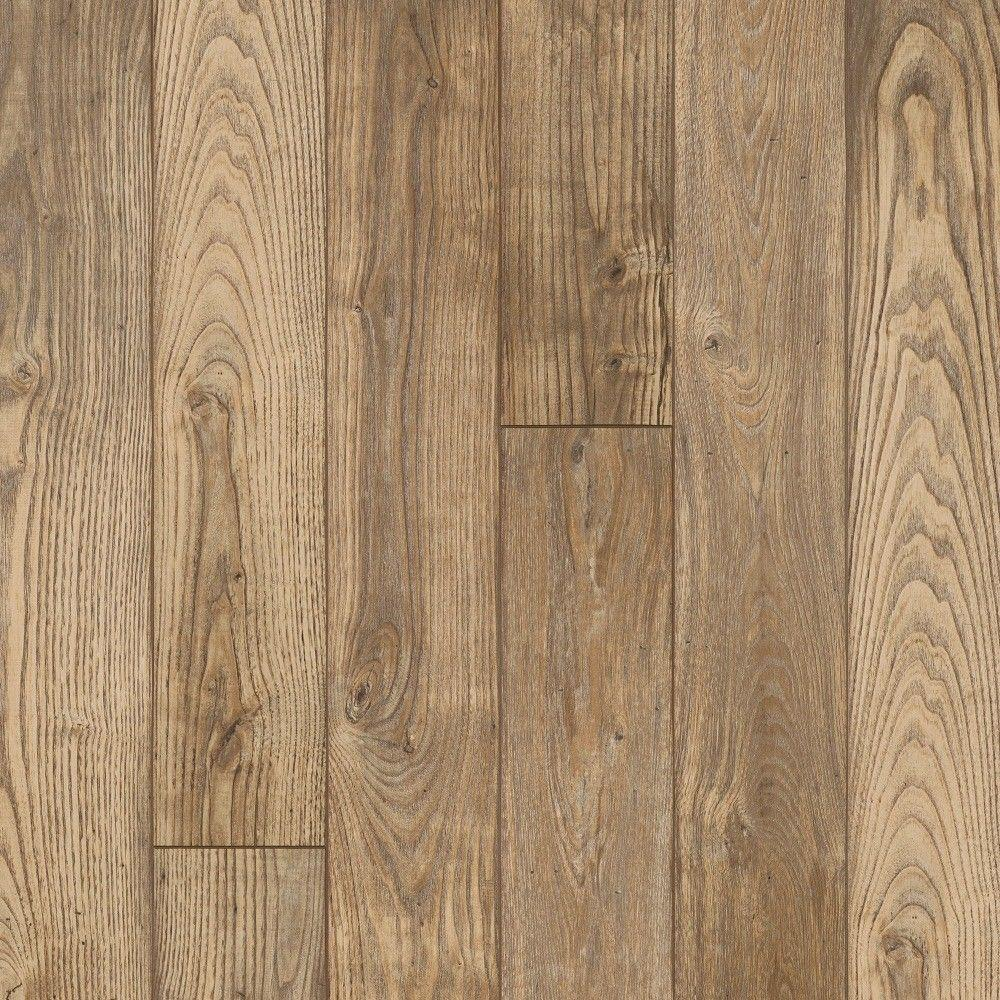 Hampton Bay Clayton Oak 12 mm Thick x 6-3/16 in. Wide x 50-1/2 in. Length Laminate Flooring (17.40 sq. ft. / case)