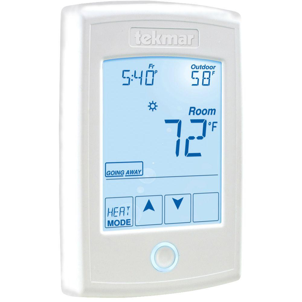 7-Day 1-Stage Heat Programmable Thermostat