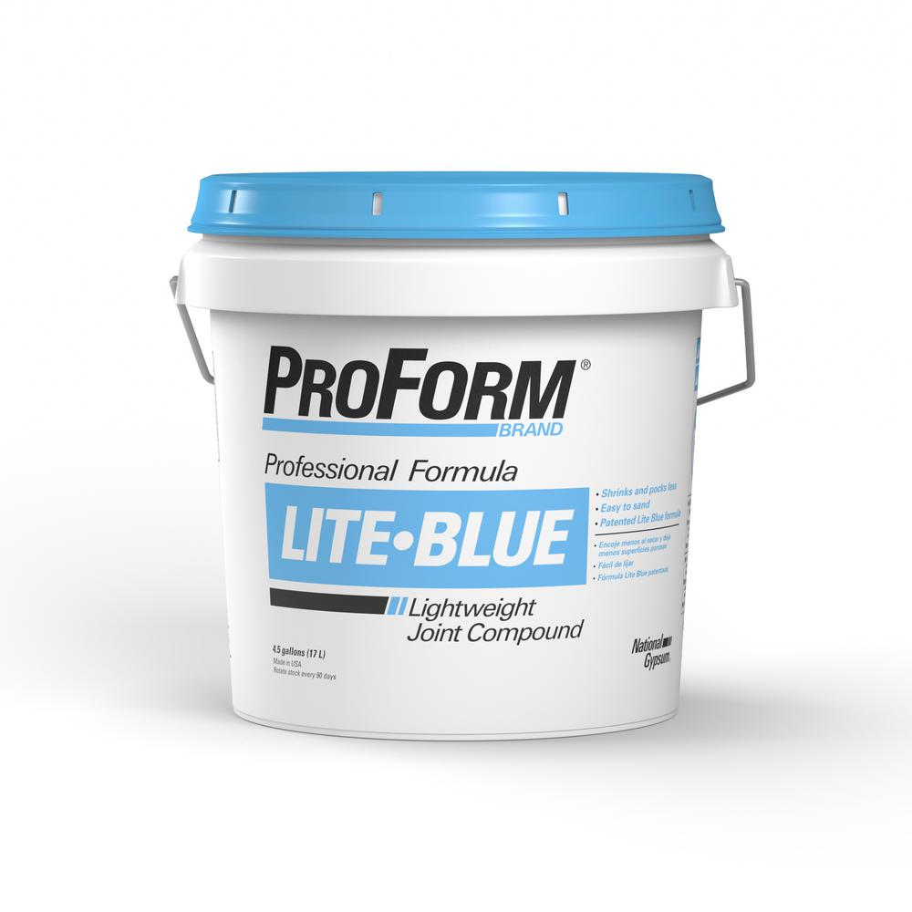 4.5 Gal. Lite Blue Pre-Mixed Joint Compound Pail
