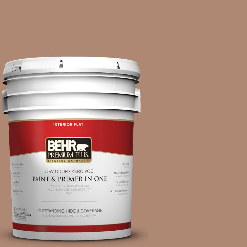 5-gal. #S200-5 Minestrone Flat Interior Paint