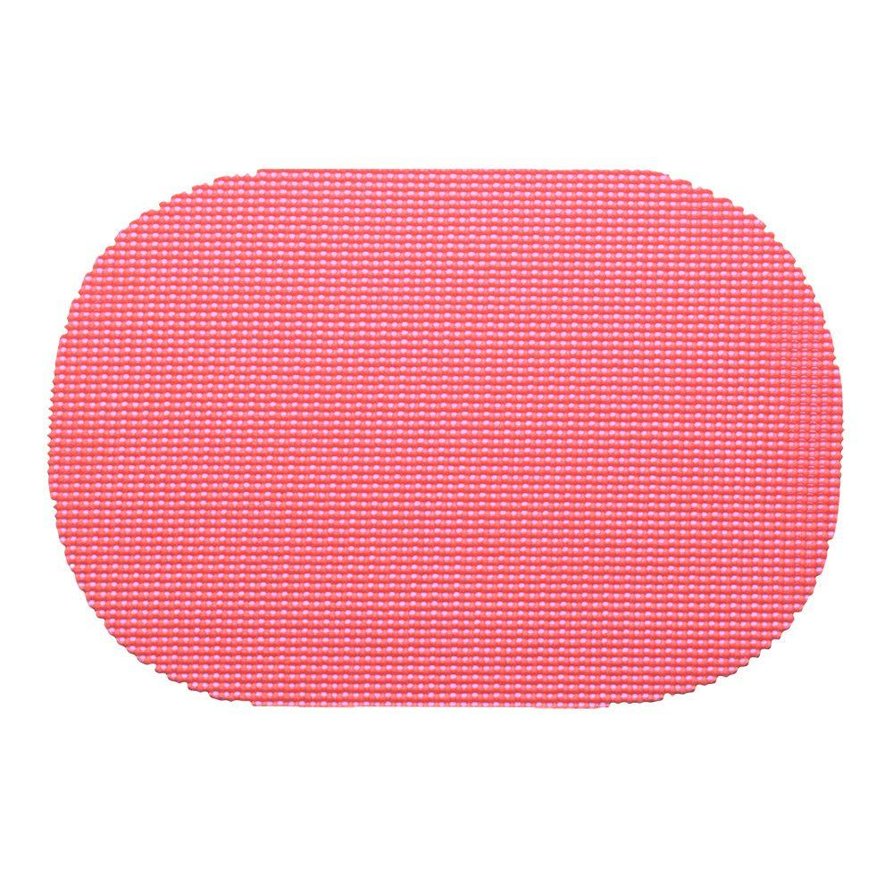 Kraftware Fishnet Oval Placemat in Honeysuckle (Set of 12)-35236 - The