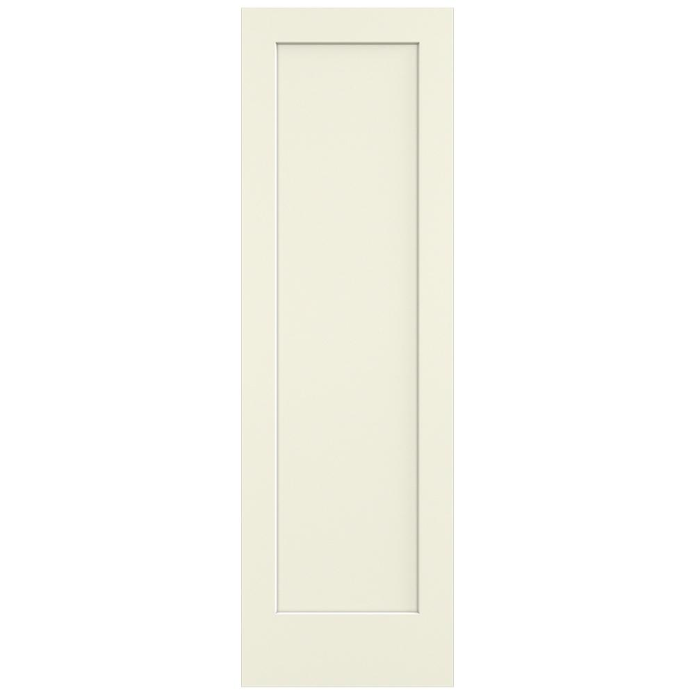 Jeld Wen 30 In X 96 In French Vanilla 1 Panel Flat Solid Core Composite Interior Door Slab