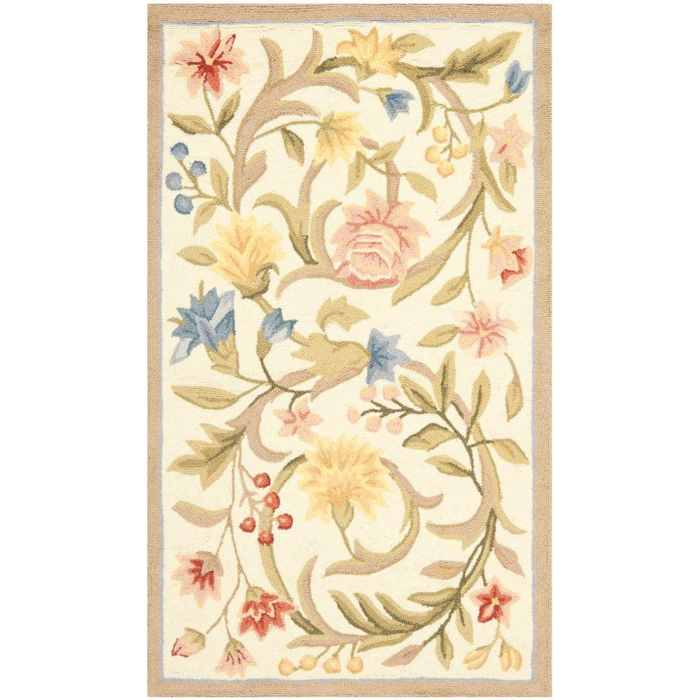 Chelsea Ivory 2 ft. 6 in. x 4 ft. Area Rug