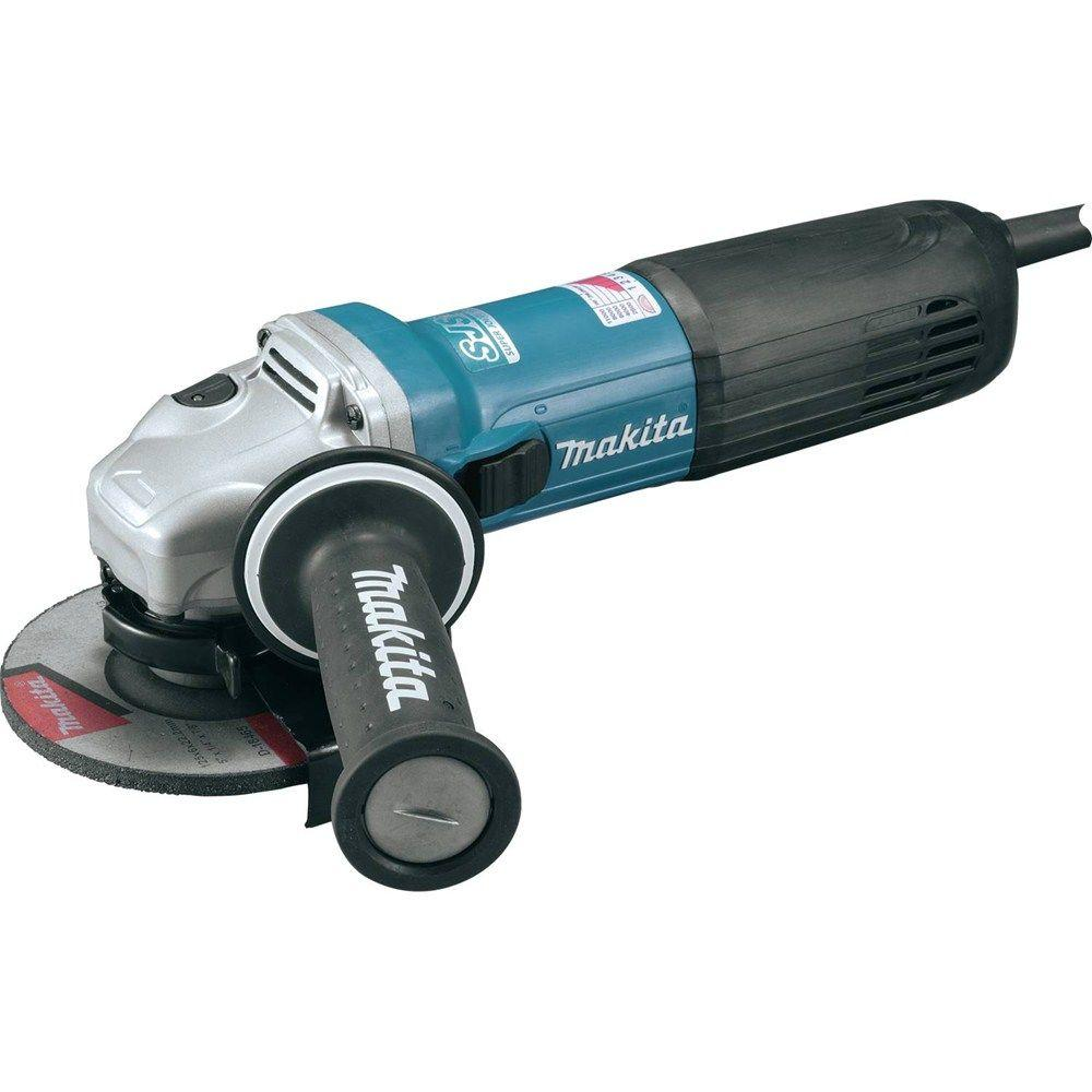 12 Amp 4-1/2 in. SJS II High-Power Angle Grinder