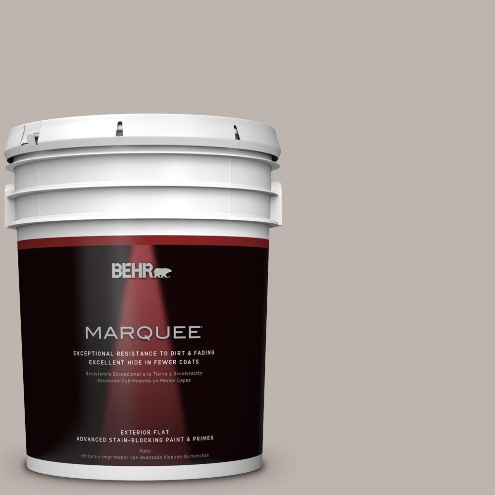 BEHR MARQUEE 5-gal. #PPU18-12 Graceful Gray Flat Exterior Paint