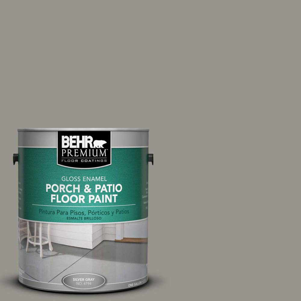 1 gal. #N360-4 Battleship Gray Gloss Porch and Patio Floor Paint