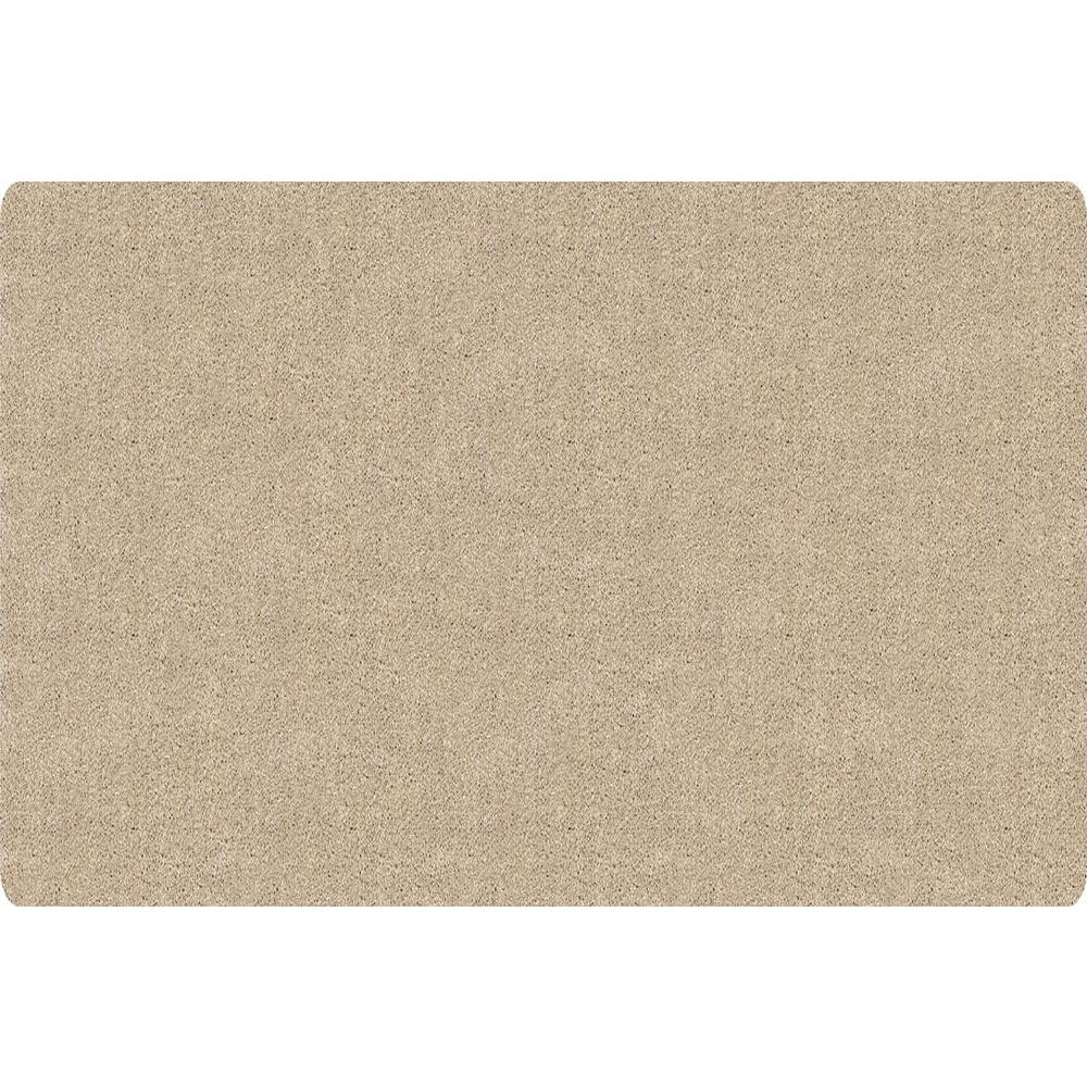 DirtStopper Brown and White 30 in. x 84 in. Absorbent Mat
