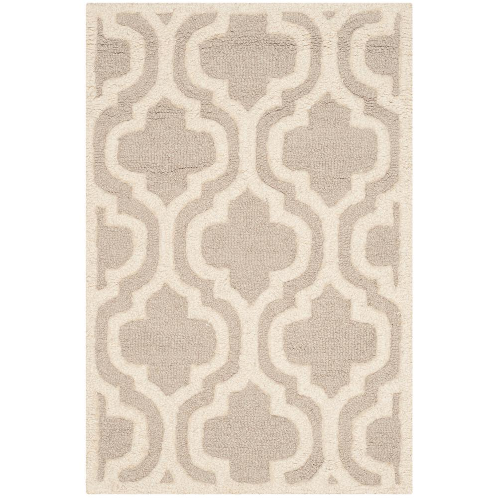 Cambridge Mocha/Ivory 2 ft. x 3 ft. Area Rug