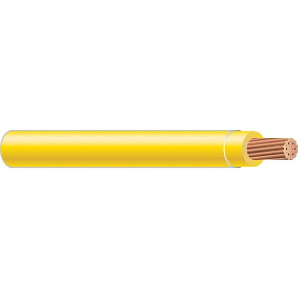 Building Wire: Southwire Electrical Wiring 12 Stranded Thhn Yellow (By-the-Foot) 22969099