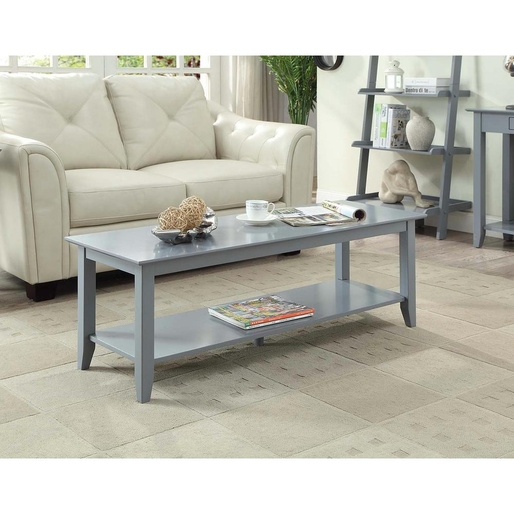 American Heritage Gray Coffee Table