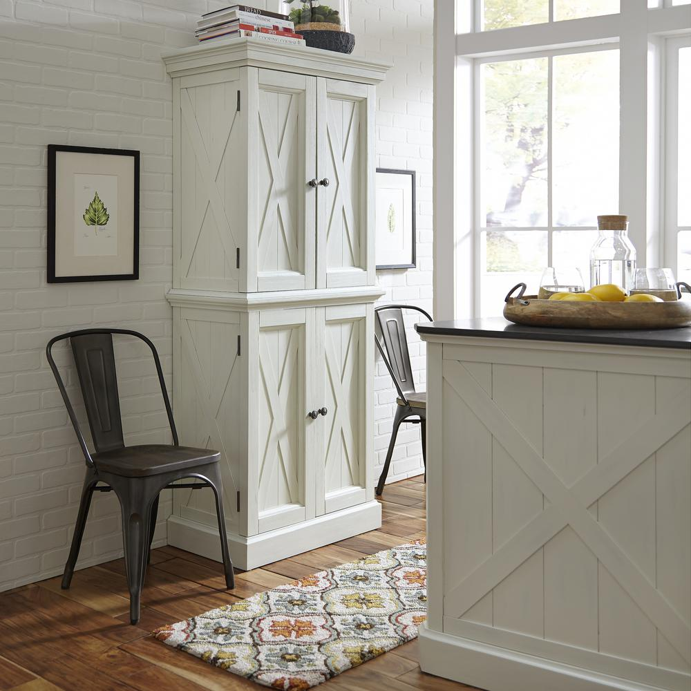 Kitchen Pantry At Home Depot: Home Styles Americana Pantry In White-5004-692