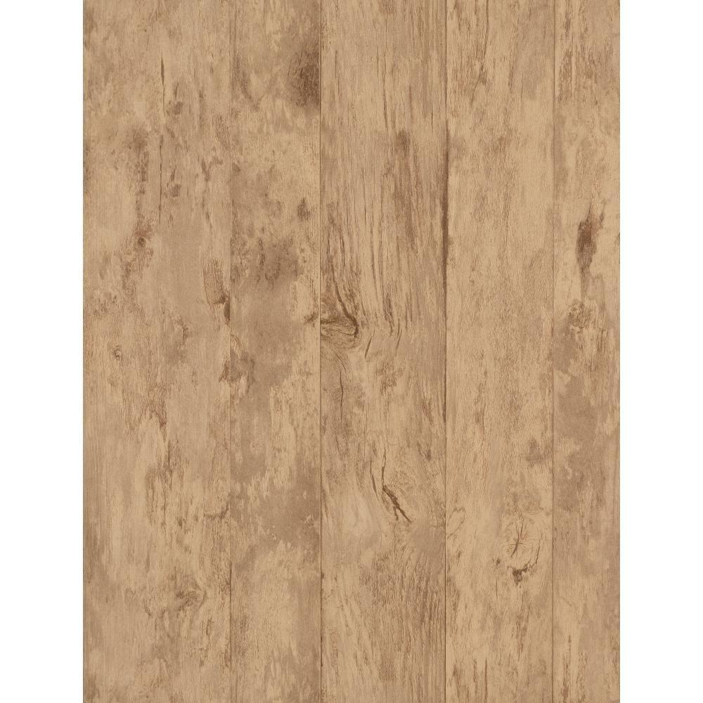 York Wallcoverings 57.75 sq. ft. Weathered Finishes Wood Wallpaper-PA130204 -