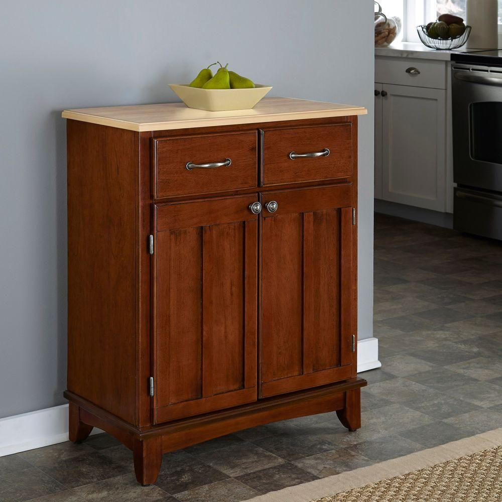 Home Styles Cherry and Natural Buffet