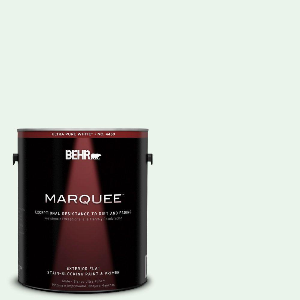 BEHR MARQUEE 1-gal. #460A-1 Bubble Flat Exterior Paint-445001 - The Home