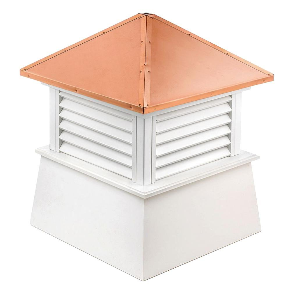 Good Directions Manchester Vinyl Cupola with Copper Roof 30 in.  x 40 in.