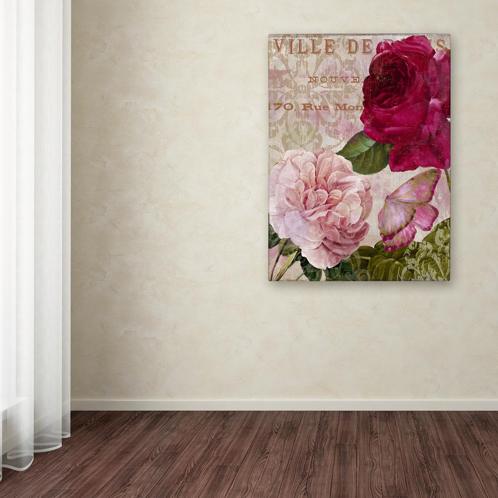 "24 in. x 18 in. ""February"" by Color Bakery Printed Canvas"