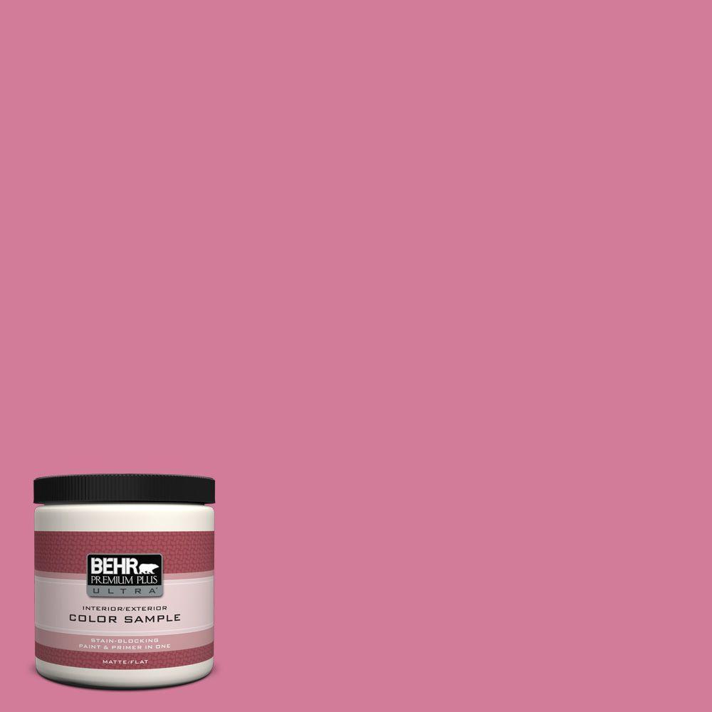 8 oz. #P130-5 Little Bow Pink Interior/Exterior Paint Sample