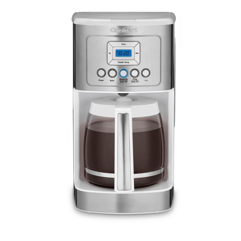 PerfecTemp 14-Cup Programmable Coffee Maker, White