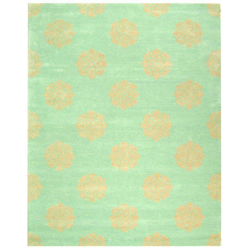 Safavieh Soho Turquoise/Beige 7 ft. 6 in. x 9 ft. 6 in. Area Rug