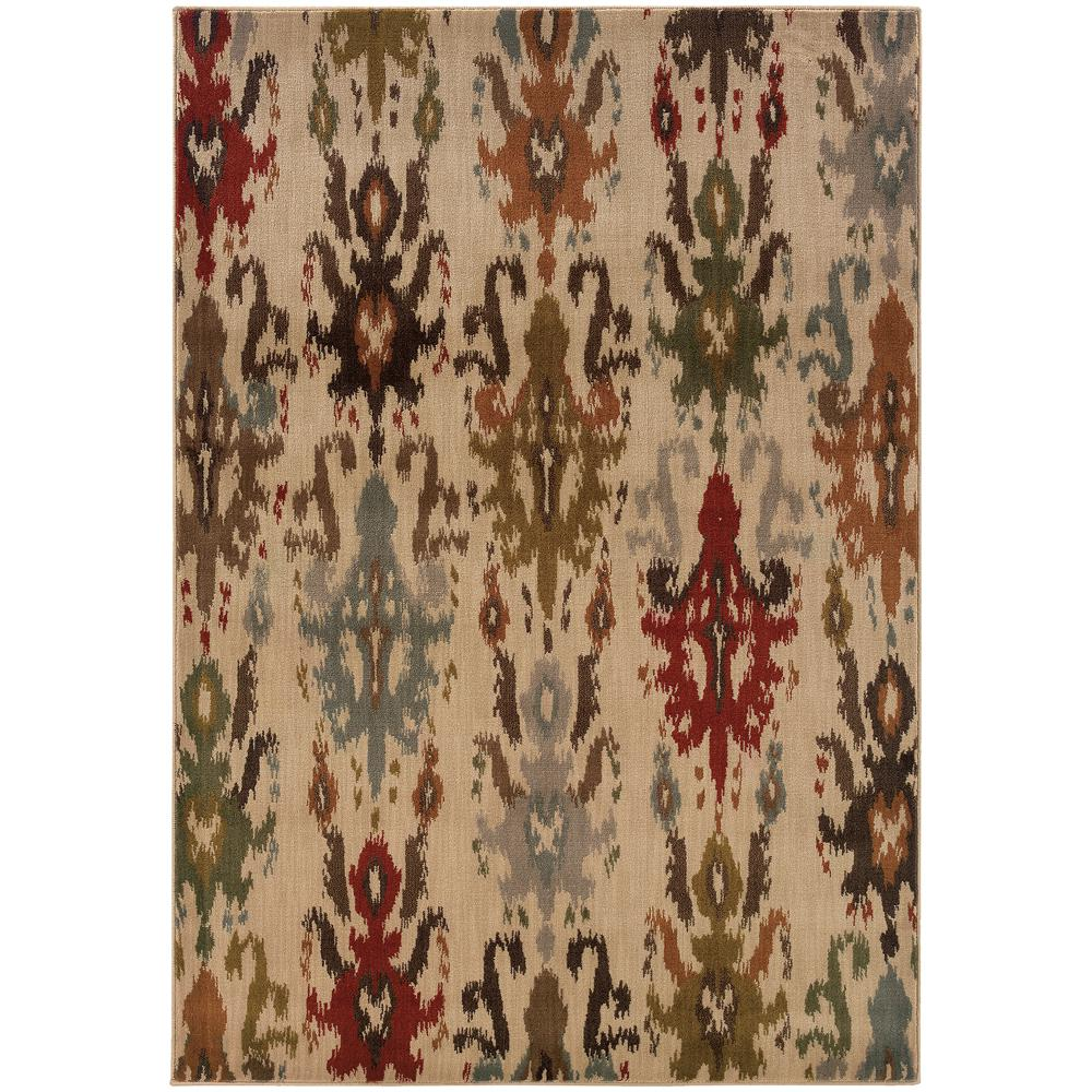 Vicenza Beige 9 ft. 10 in. x 12 ft. 10 in.