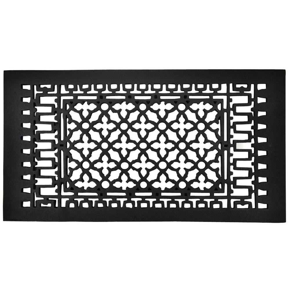 Copper Mountain Hardware 24 in. x 12 in. Cast Iron Grille-DISCONTINUED